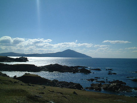 Clare Island seen from Achill