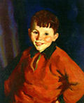 Smiling Tom by Robert Henri