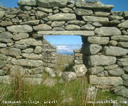 Deserted village, Achill (77KB)
